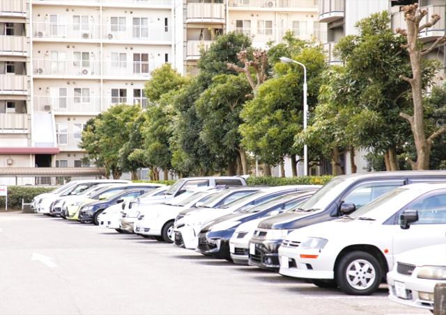 駐車場完備で交通に不便しない